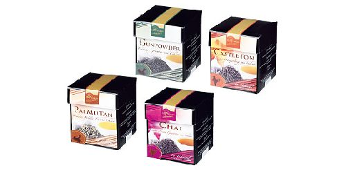 Tee im Pyramidenbeutel, Oktober 2007