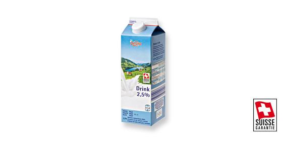 Milchdrink 2,5% UHT, M�rz 2012