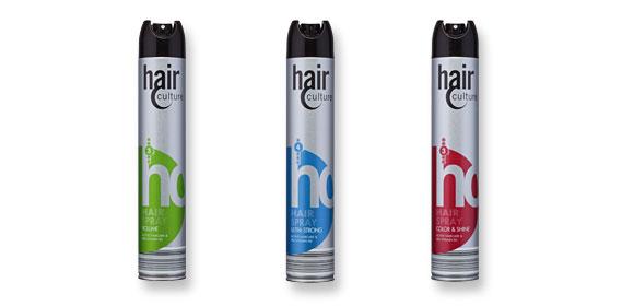 Haarlack oder Haarspray, Juli 2012