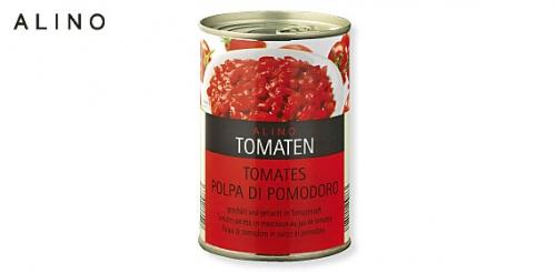 Tomaten geschält und gehackt, Januar 2010