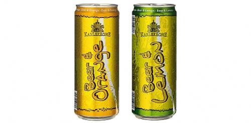 Bier Lemon/Orange, Juni 2008