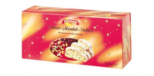 Butter Mandel Stollen, Dezember 2007