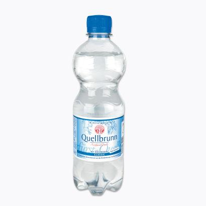 Mineralwasser Classic, 6x0,5 l, Februar 2012
