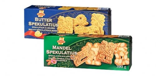 Spekulatius mit Mandeln/Butter, November 2008
