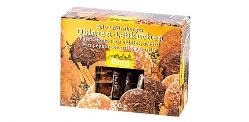 Nürnberg Oblaten Lebkuchen, Oktober 2008