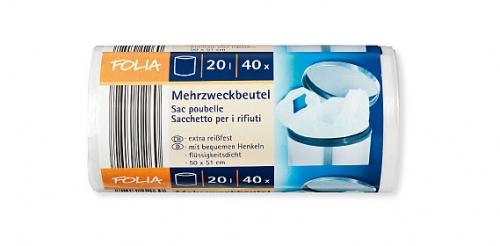 Mehrzweck Beutel 20 Liter, Juni 2009