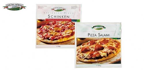 Steinofenpizza Schinken/Salami, Februar 2008