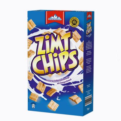 Zimt Chips, Vollkornflakes mit Zimt, Februar 2012