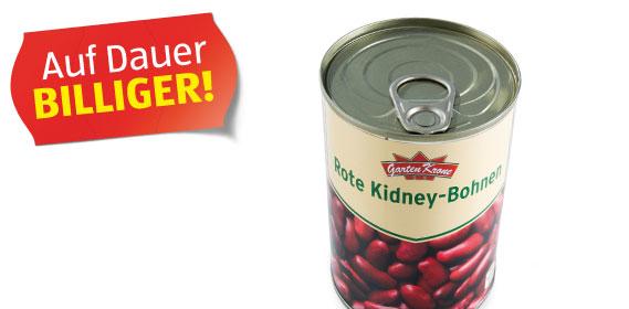 Rote Kidney-Bohnen, Oktober 2012