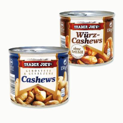 Cashews/Würz-Cashews, Oktober 2012