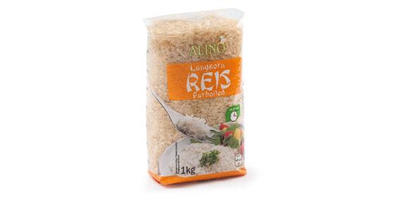 Reis, parboiled, Juli 2013