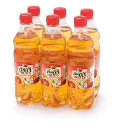 Apfelsaft gespritzt, 6x0,5 l, Oktober 2012