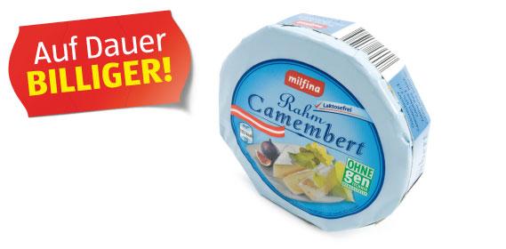 Rahm-Camembert, Februar 2012