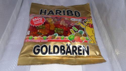 Haribo Goldbären, 350 g Beutel, Oktober 2012