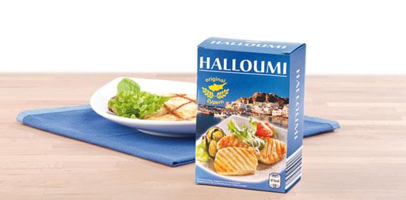 Grillkäse Halloumi, April 2013