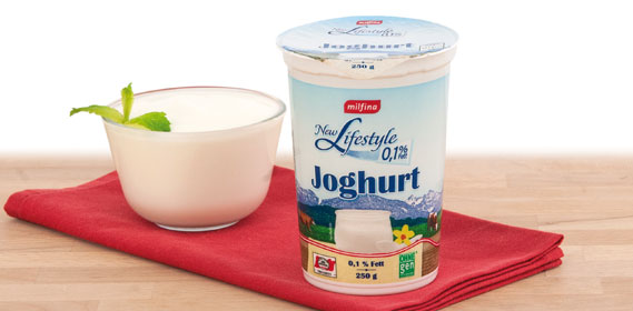 Joghurt, 0,1% Fett (New Lifestyle), Januar 2014