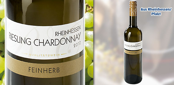 Riesling Chardonnay Rheinhessen/Pfalz QbA, Juli 2011