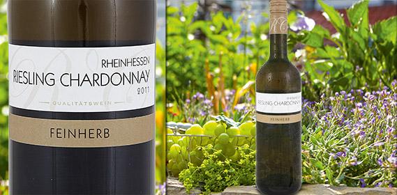 Riesling Chardonnay Rheinhessen/Pfalz QbA, Juli 2012