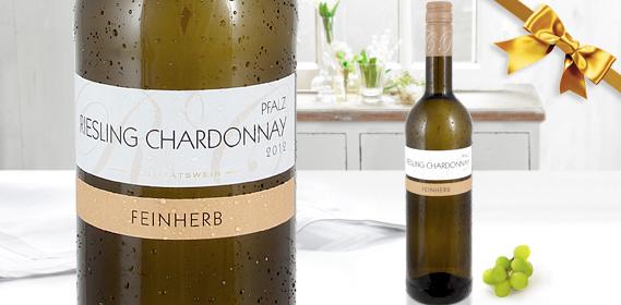 Riesling Chardonnay Rheinhessen/Pfalz QbA, M�rz 2013