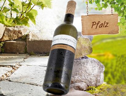 Riesling Chardonnay Rheinhessen/Pfalz QbA, Juli 2013
