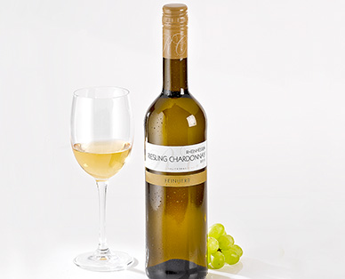 Riesling Chardonnay Rheinhessen/Pfalz QbA, Juli 2014