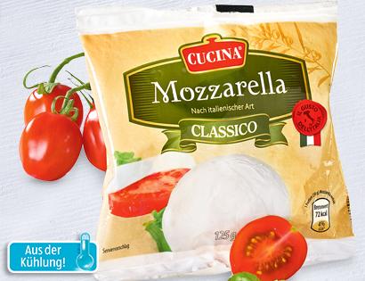 Mozzarella, Juli 2013