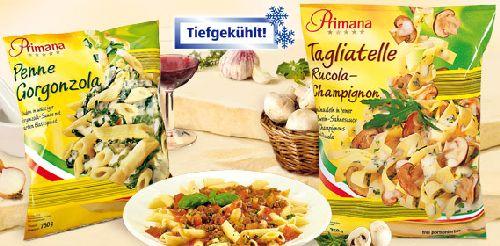 Pasta-Spezialitäten, Oktober 2007