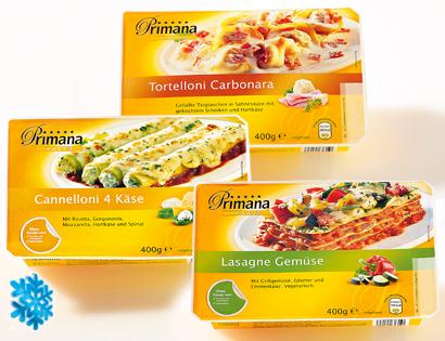 Pasta-Gerichte, Januar 2014