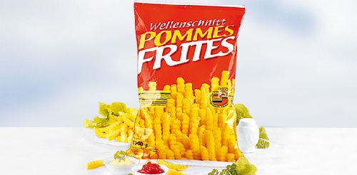 Wellenschnitt Pommes frites / Wellen Pommies, Oktober 2007