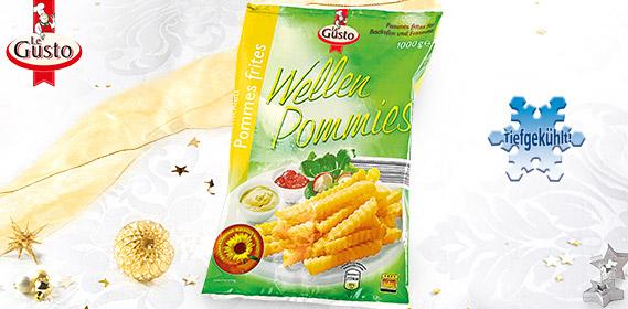 Wellenschnitt Pommes frites / Wellen Pommies, Dezember 2011