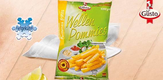 Wellenschnitt Pommes frites / Wellen Pommies, Januar 2012