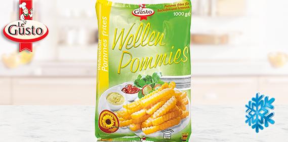 Wellenschnitt Pommes frites / Wellen Pommies, November 2012