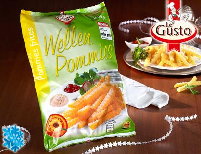 Wellenschnitt Pommes frites / Wellen Pommies, November 2013