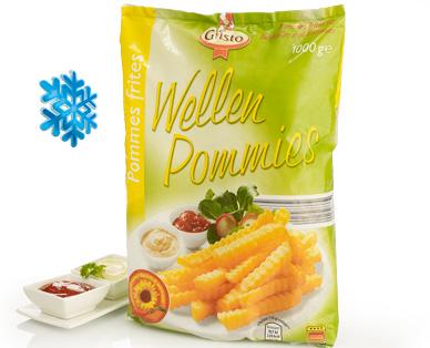 Wellenschnitt Pommes frites / Wellen Pommies, Oktober 2014