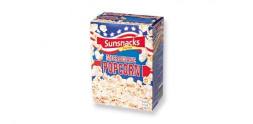 Mikrowellen Popcorn, September 2011