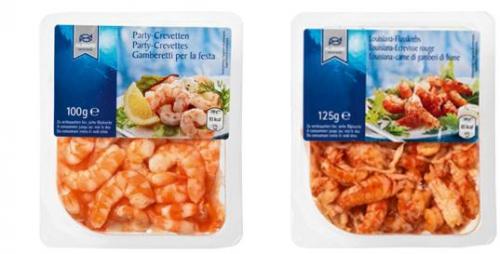 Meeresfrüchte Snack, November 2010