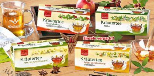 Kräutertee, 25x 2 g, November 2008