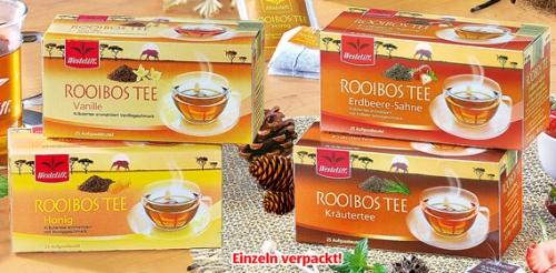 Rooibos Tee, 25x 2 g, November 2008