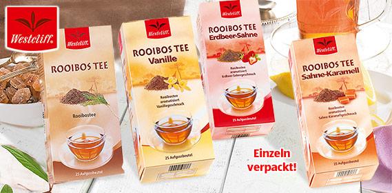 Rooibos Tee, 25x 2 g, M�rz 2011