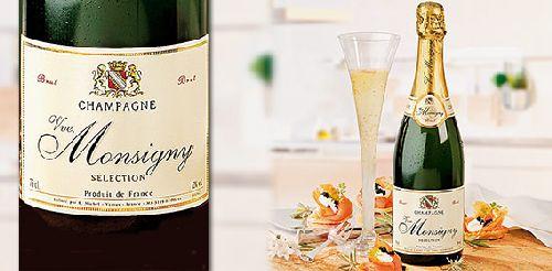 Champagner Brut - VVE. MONSIGNY, Oktober 2007