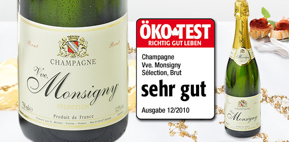 Champagner Brut - VVE. MONSIGNY, Dezember 2010