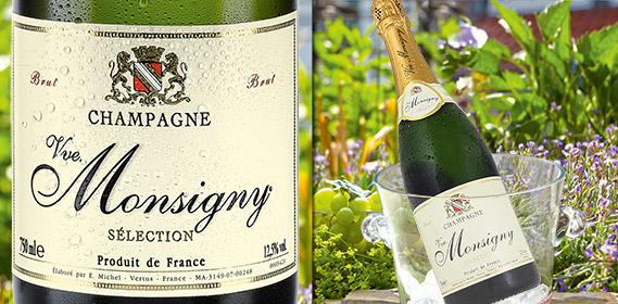 Champagner Brut - VVE. MONSIGNY, Juli 2012