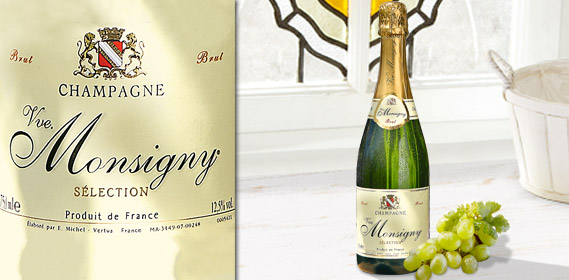 Champagner Brut - VVE. MONSIGNY, September 2012
