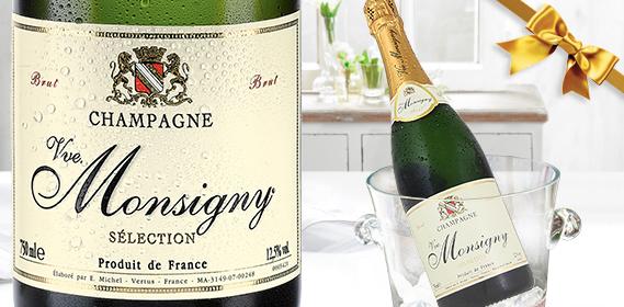 Champagner Brut - VVE. MONSIGNY, M�rz 2013