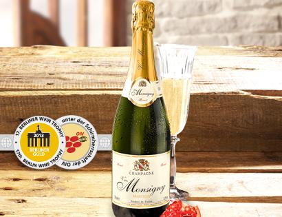 Champagner Brut - VVE. MONSIGNY, Mai 2013