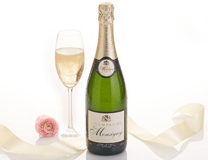 Champagner Brut - VVE. MONSIGNY, April 2014