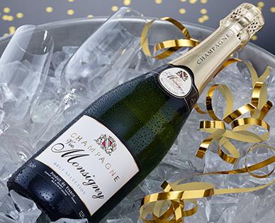 Champagner Brut - VVE. MONSIGNY, Dezember 2014