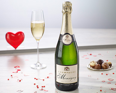 Champagner Brut - VVE. MONSIGNY, Februar 2015