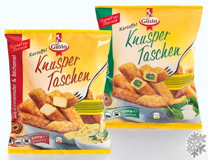 Knusper Taschen, M�rz 2014