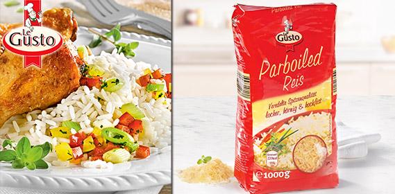 Parboiled Reis, Juni 2012